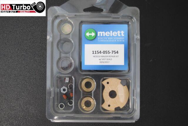 Melett 1154-055-754 Turbo Rebuild Repair Kit for Cummins ISX Holset He551v