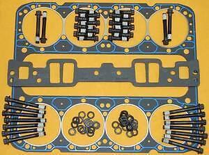 Fel Pro Sbc Aluminum Head Gaskets Bolts Washers 1255 1003 134-3601