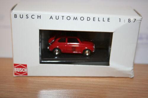 1 von 1 - Busch 48718, Fiat 500, Feuerwehr Niederlande, neu, OVP