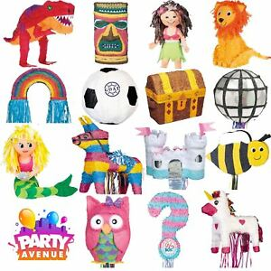 Assorted-Pinata-039-s-Childrens-Birthday-Party-Game-Decorations