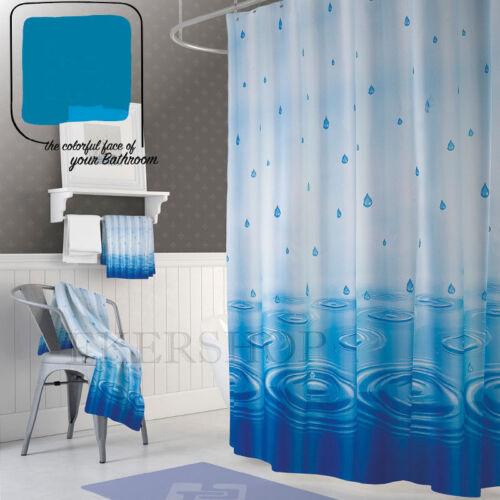 Textile Shower Curtain Multi Colours Various Sizes Various Colours Choose!