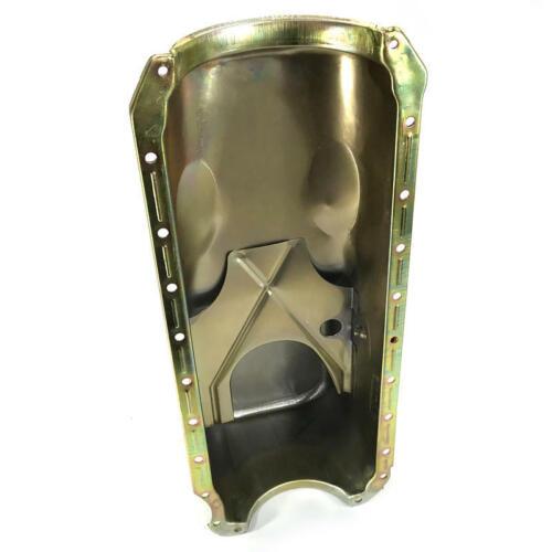 Bandit Engine Oil Pan 9294Z; OE-Style 4.0 Quarts Zinc for Chevy 396-454 BBC