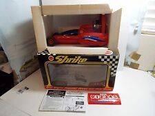 VINTAGE Cox Shrike 9100 Rear Engine Prop Driven Salt Flat Racer Car w/Tether NOS