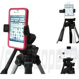 big sale 610dd 73213 Details about Apple iPhone 5s 5c Video Recording Camera Tripod Monopod  Adapter MOUNT *FIT Case