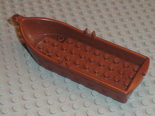 7048 7016 7071 8802 6242 7073 65767 LEGO pirates RedBrown Boat bateau 2551