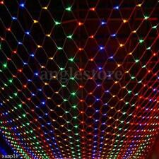 Colorful 210 LED Net Mesh Decorative Fairy Lights Twinkle Lighting Christmas Wed