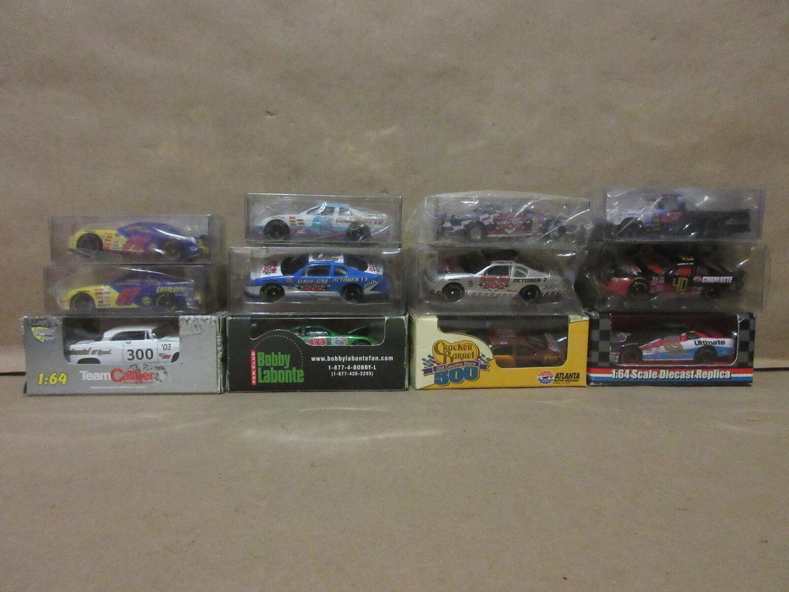 12 Different  1 64 Scale Racing Cars Nascar Atlanta Toys TeamCaliber