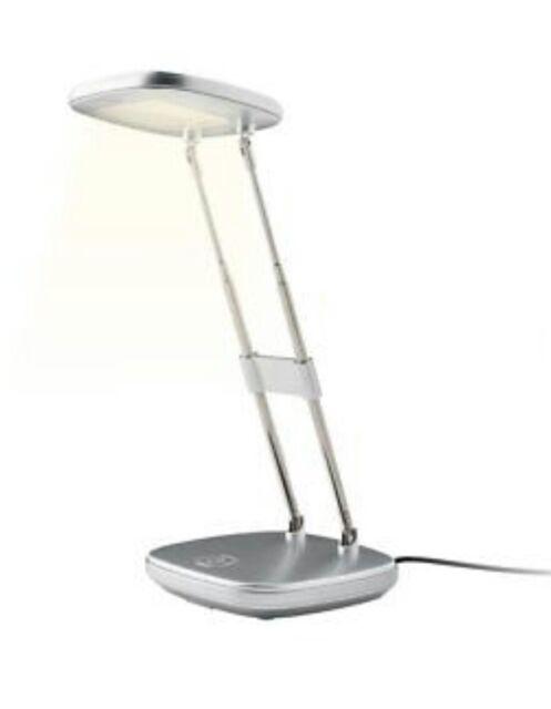 NEW!!! LIVARNO LUX LED Desk Lamp SILVER