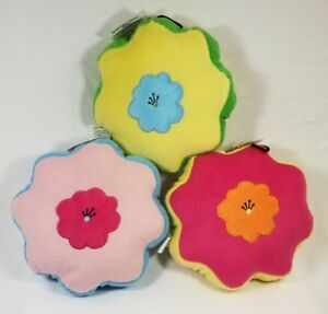Griggles-Spring-Garden-Collection-Flower-dog-toys-toy-puppy-squeaker-plush-B6
