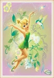 Image Is Loading 5d Diamond Painting Tinkerbell And The Hummingbird