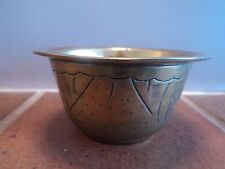 "VINTAGE BRASS CAST ART DECO ""WITCHES CAULDRON"" DRESSER/TRINKET POT - LOVELY ITEM"