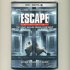 Escape Plan 2013 R action thriller movie, new DVD Stallone Schwarzenegger prison