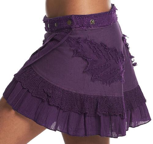 pixie skirt festival clothing elf fairy skirt GEKKO skirt STEAMPUNK SKIRT
