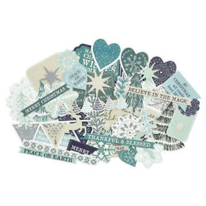over 40 pieces Die-cut Shapes Kaisercraft MORNING DEW Collectables