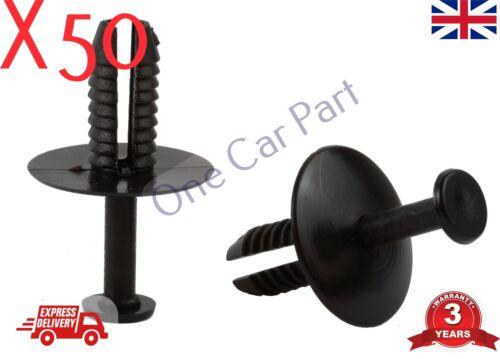 50x BMW Paraurti Parafango Plastica Clip Di Fissaggio SERIE E36 E46 E90 E39 E60