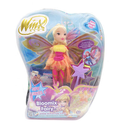 2018 Newest Winx Club Doll Rainbow Colorful Girl Action Figures
