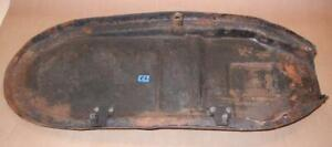 1963-1970-Triumph-500-650cc-seat-base-USED-with-hinges-no-tears-P2