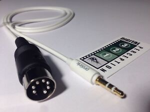 Image is loading Bang-amp-Olufsen-compatible-AUX-Din-plug-to-
