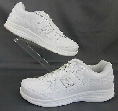 Balance 577 Walking Shoes White Leather