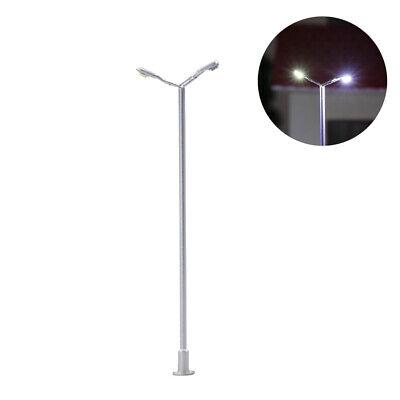 TT LED Leuchte Doppelpeitschenlampen 56mm 12-18V Spur N T91D Neu 10 Stk