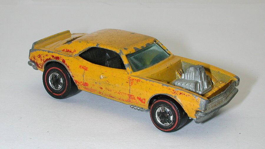 Redline Hotwheels 1974 Magenta orange Light orange Tampo Heavy Chevy oc16463