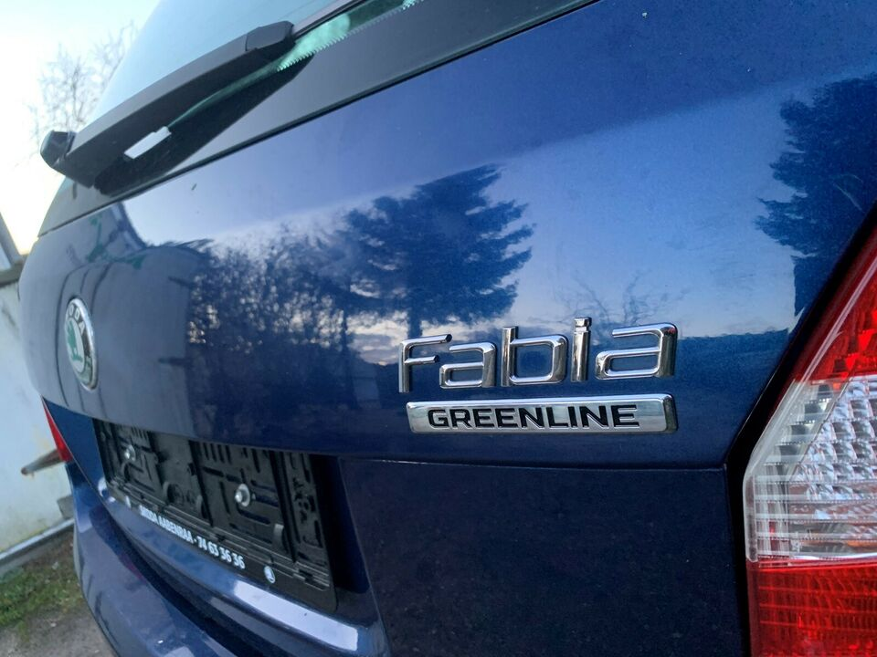 Skoda Fabia, 1,4 TDi 80 GreenLine Combi, Diesel