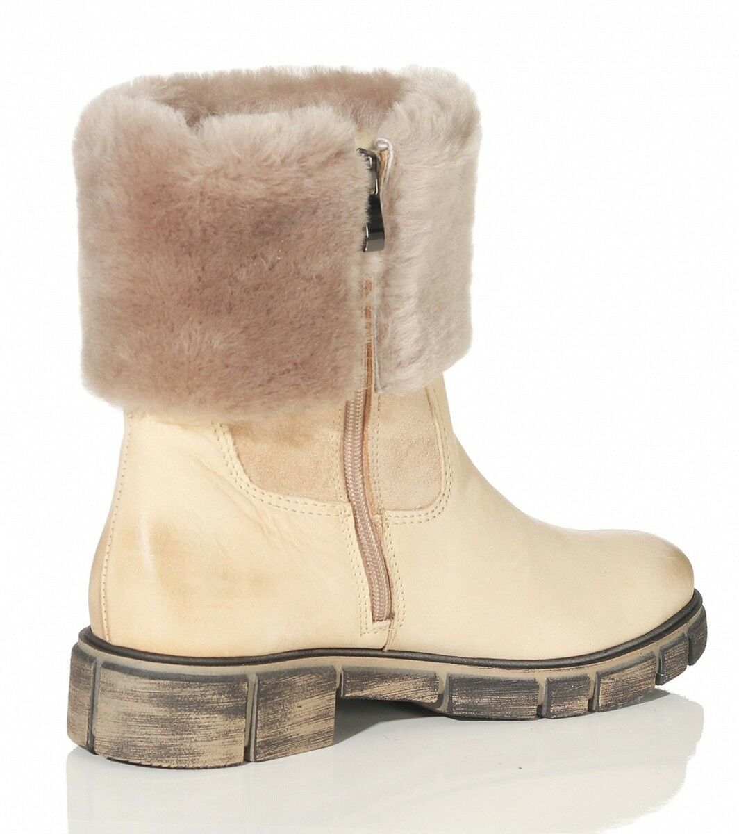 Hollert Lambskin Ankle Boots Ht-400 Kombu for Women Boots Boots Boots Real Leather Warm 434125