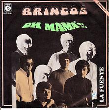 """7"""" los BRINCOS oh mama 45 SINGLE SPAIN NOVOLA 1969 la fuente"""