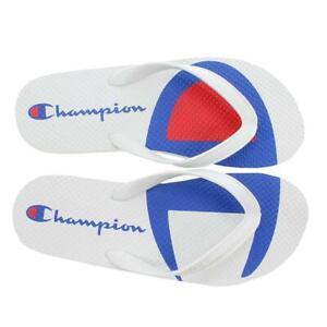 Split Logo White Flip Flops Sandals   eBay