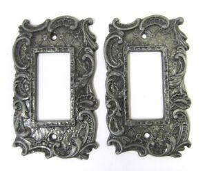 Fleur De Lis Style Switch Plate Covers