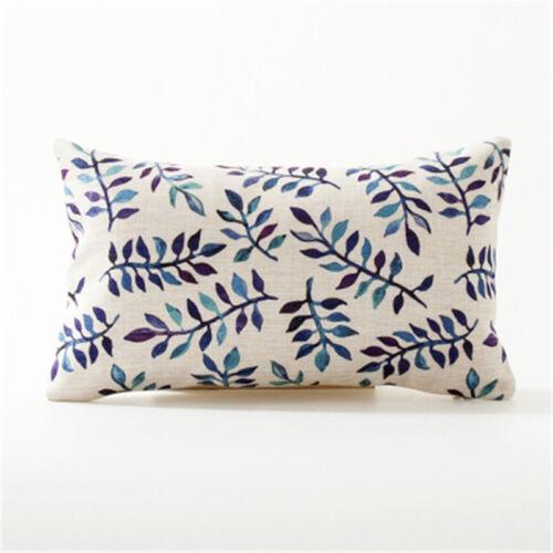 Maroc Taie D/'Oreiller Décoratif géométrique coussins Cover Home Decor bleu pour canapé