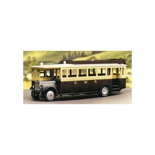5137 Modelscene OO Gauge Maudslay Bus Great Western Railway Plastic Kit