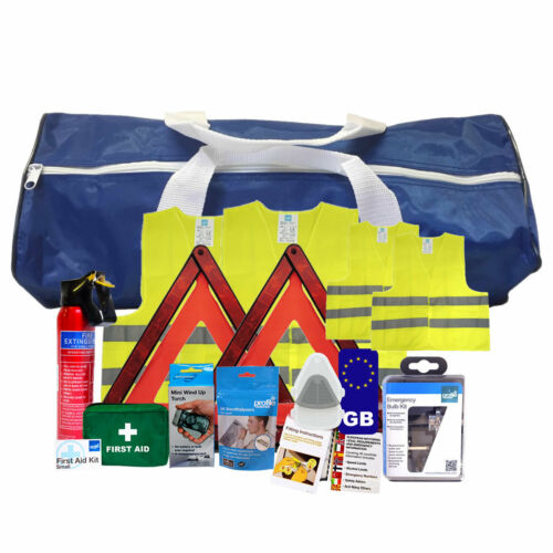 Motoring Kit Safety Kit FAMILY Fast Delivery Breakdown French Travel Kit