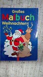 Großes Malbuch Weihnachten groß. 28,00 x 21,00 cm - Deutschland - Großes Malbuch Weihnachten groß. 28,00 x 21,00 cm - Deutschland
