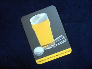 COLLECTIBLE-BEERMATS-BODDINGTONS-THE-CREAM-OF-MANCHESTER-ENGLAND-034-ICE-SCOOP-034