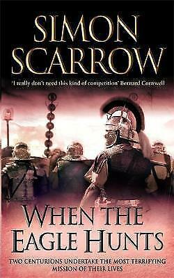 1 of 1 - When the Eagle Hunts by Simon Scarrow - Small Paperback  20% Bulk Book Discount