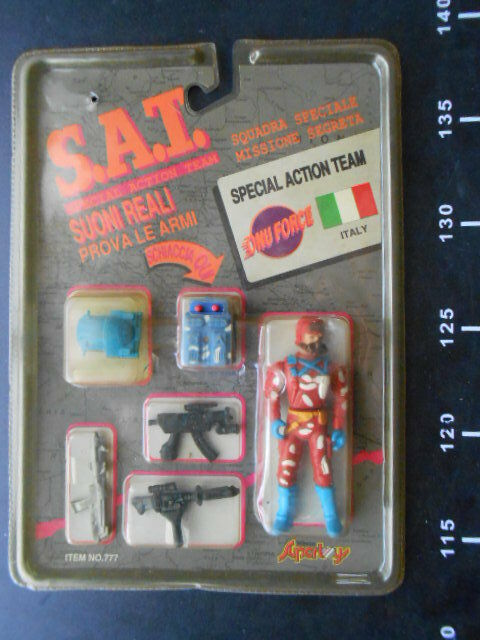 S.A.T. Special Action Team Supertoy G.I. Squadra Speciale Missione JOE Warriors