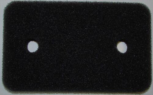 2 x Filter für Miele 7070070 Schwammfilter  Filtermatte Vlies Sockelfilter