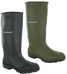 b9733594155 Image is loading Dunlop-Rubber-Wellington-Boots-Pricemastor-Mens-Wellies -Snow-