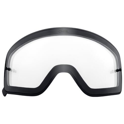 O/'Neal Ersatz Magnet Scheibe B-50 Schwarz Goggle Anti Beschlag Polycarbonat MX
