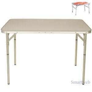 B Ware Xl 100cm Alu Campingtisch Extra Hoch Klapptisch Gartentisch