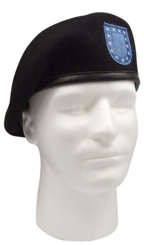 Inspection Ready Wool MAROON BERET Military French Cap Beanie