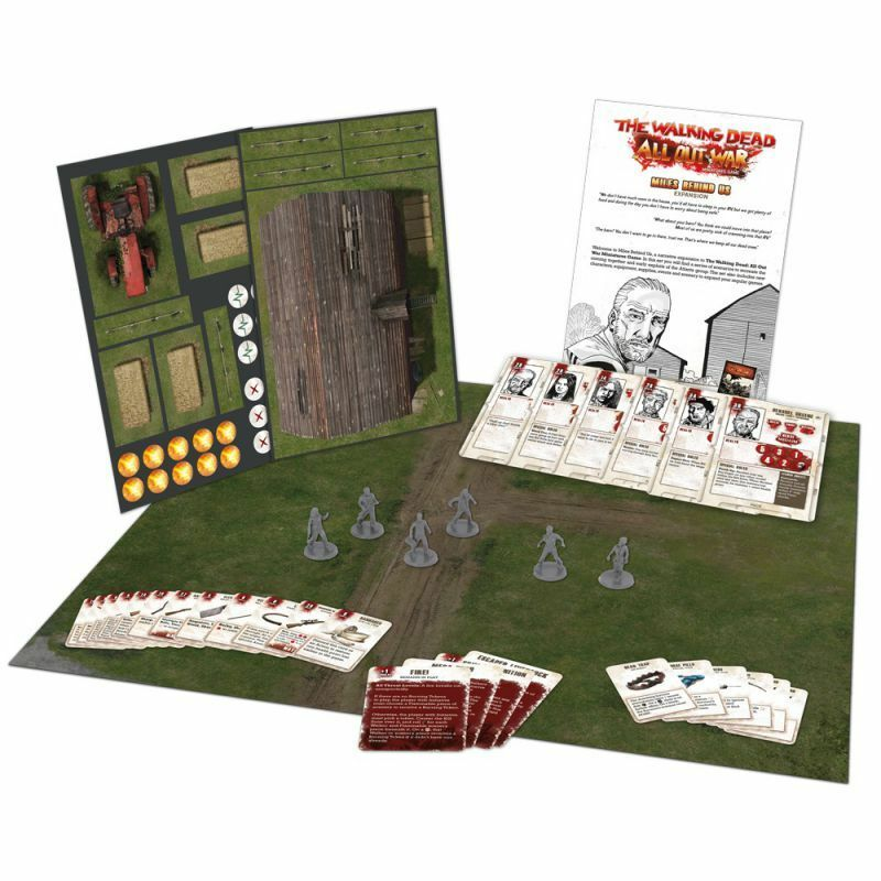 The Walking Dead Miles Behind Us Farm Expansion English All Out War manticgames