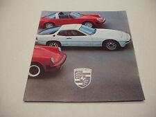 Porsche 1978 Sales Brochure 911 930 924 928        117