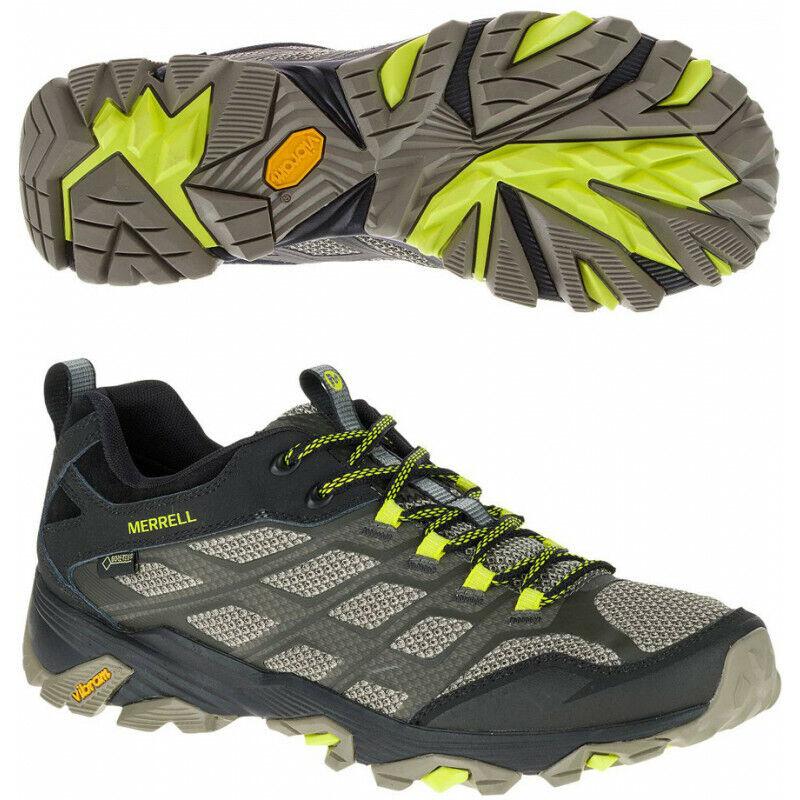 Mens Merrell Moab Fst Gore-tex Mens Walking shoes - Black