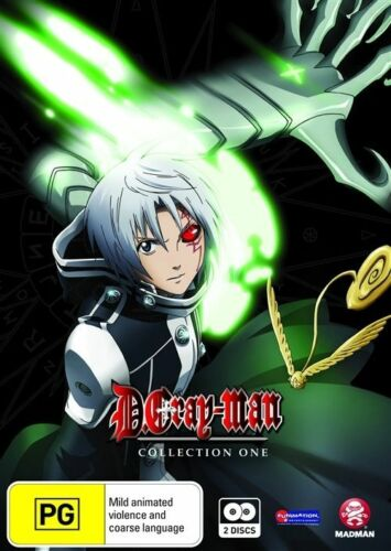 1 of 1 - D.Gray-Man : Collection 1 : Eps 01-13 (DVD, 2009, 2-Disc Set)