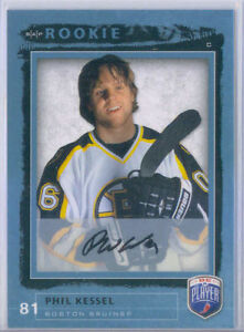 2006-07-Be-A-Player-Phil-Kessel-Autograph-RC-202-Pittsburgh-Penguins