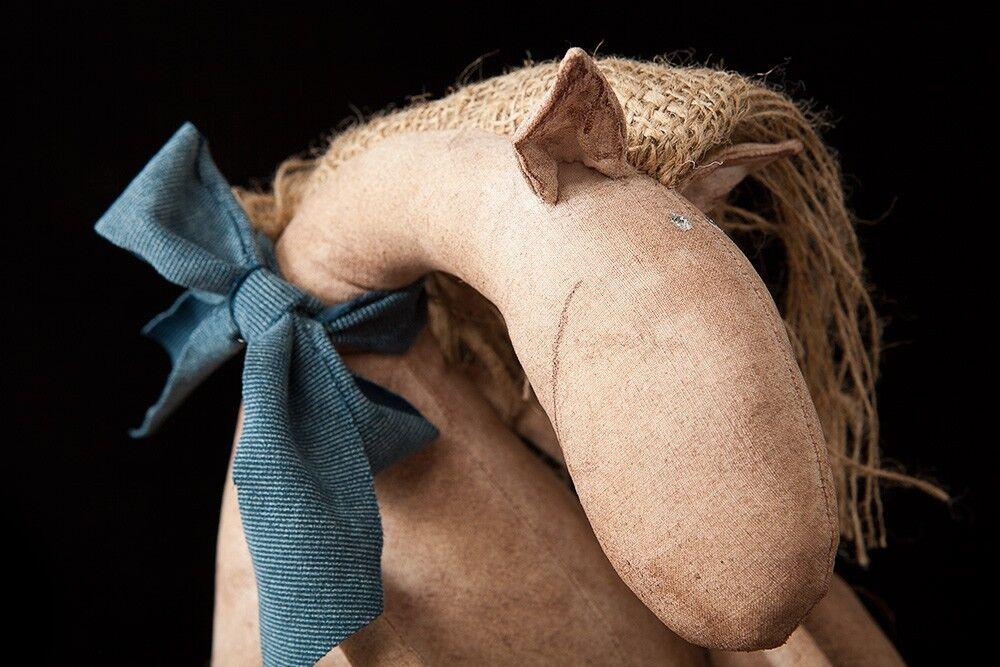El Caballo. hecho a mano Vintage Lindo artista Coleccionables Juguete Antigua Muñeca Decoración Hogar