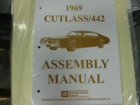 1969 Cutlass, 442 (all Models) Assembly Manual
