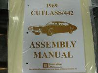 1969 Cutlass, 442 (all Models) Assembly Manual